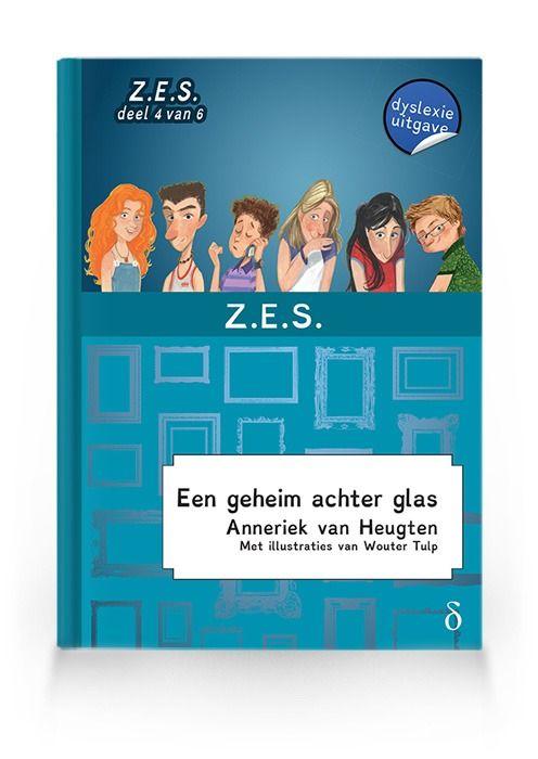 Een geheim achter glas (Z.E.S. deel 4)